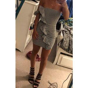 Tigermist Gingham Dress